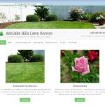 Portfolio website: Adelaide Hills Lawn Service