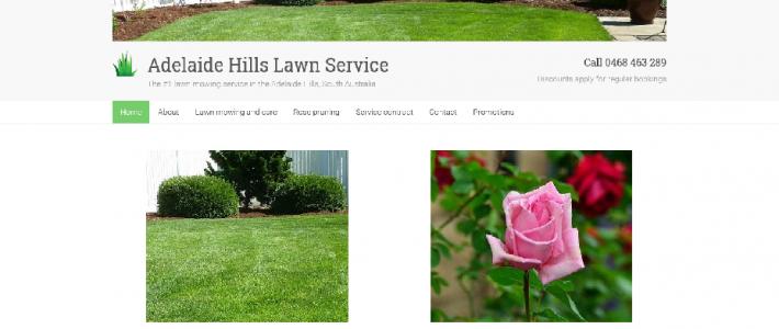 New website design for Adelaide Hills gardening business